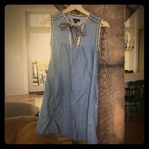 Super Cute Short Denim JCrew Dress 00